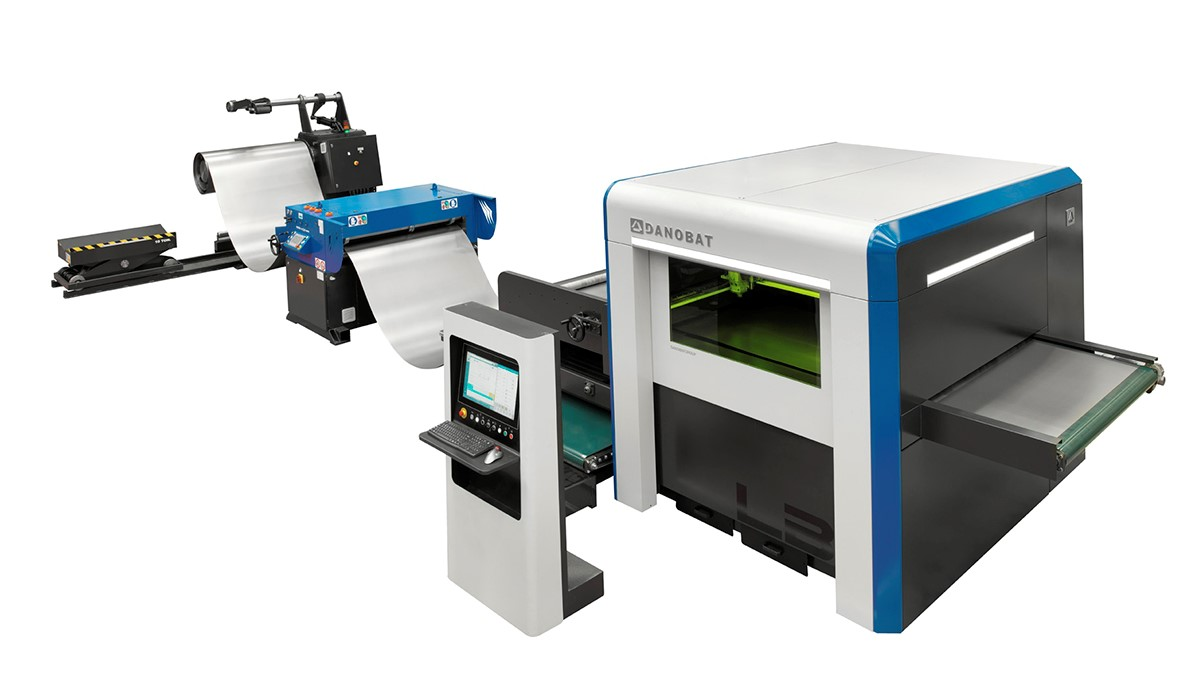 DANOBAT's coil-fed laser blanking line will now feature Lantek software